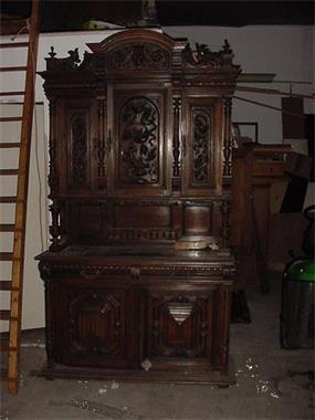 Antieke Henry Deux Kast 1870