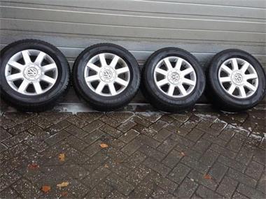 16 Inch Volkswagen Tiguan Velgen Winterbanden