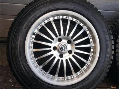 18 Inch Mazda Cx5 Cx7 Velgen Dunlop Winterbanden