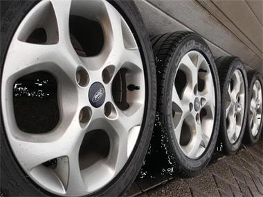 15 Inch 4x108 Ford Fiesta Fusion Velgen 7mm Banden